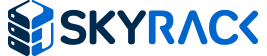 Skyrack Blue and Dark Blue Logo